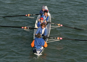 Ladies Junior 4 - Jen Jordan, Maria West-Burrows, Chrissy Purvis, Lisa Burnett, Paul Scrivener (cox)