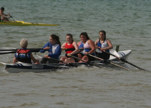 J16 Warren, Reed, Doick, Barter, coxed by Johnston