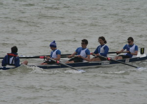 Novice Men's Four - Andrew Botteli, Austin Mills, Tom Stothart, Cameron Mackintosh, cox Christopher Hall