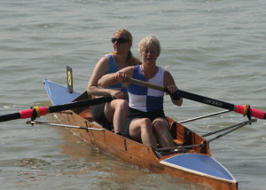 Senior Ladies Pair West-Burrows and Johnston