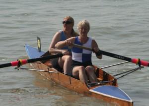 Senior Ladies Pair West-Burrows and Johnston