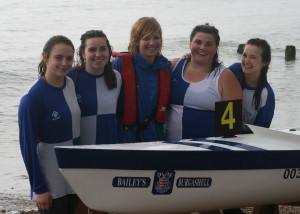 J16 Crew Megan Barter, Mary Newcombe, Lizzie Foley, Antonia Reed, Taylor Warren