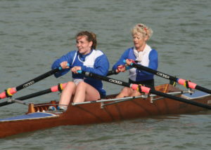 Jo Johnston and Mary Newcombe winners of the Ladies Double Sculls (2)