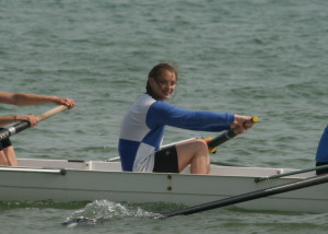 Megan Barter who recorded tow second places at Shoreham