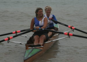 Jo Johnston and Saffron Walmsley-Preece 2nd in the Ladies Double Sculls (2)