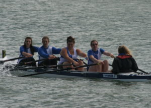 Ladies J16 Quad - Taylor Warren, Megan Barter, Antonia Reed, Mary Newcombe, Saffron Walmsley-Preece (cox)