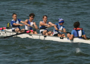 Michael Scales, Tom Stothart, Guy Hadfield, Cameron Mackintosh, Chris Hall - Men's Novice 4