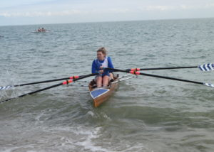 Ladies Double Sculls Jo Johnston and Mary Newcombe