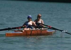 Ladies Double Sculls - Rebecca Stothart, Maria West-Burrows