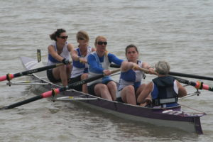 Ladies Junior 4 - Jen Jordan, Chrissy Purvis, Maria West-Burrows, Mary Newcombe and Jo Johnson (Cox)