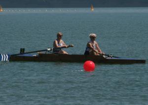 Ladies Senior Pairs- Maria West-Burrows and Jo Johnston
