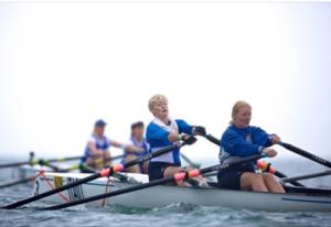 Jo Johnston and Maria West-Burrows courtesy of British Rowing Naomi Barker 2