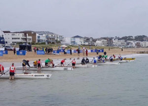 Start of the Woman's Double Sculls